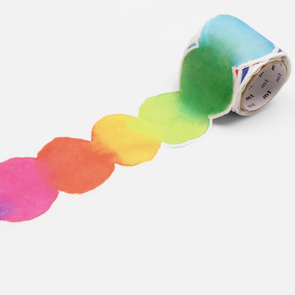 Watercolour Paint MT Washi Tape
