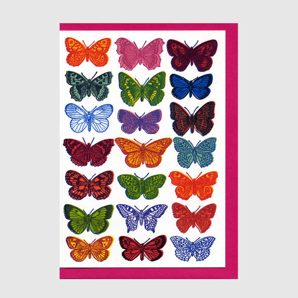 Butterflies Greetings Card