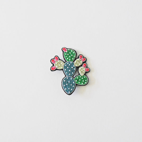 Macon & Lesquoy Prickly Pear Brooch