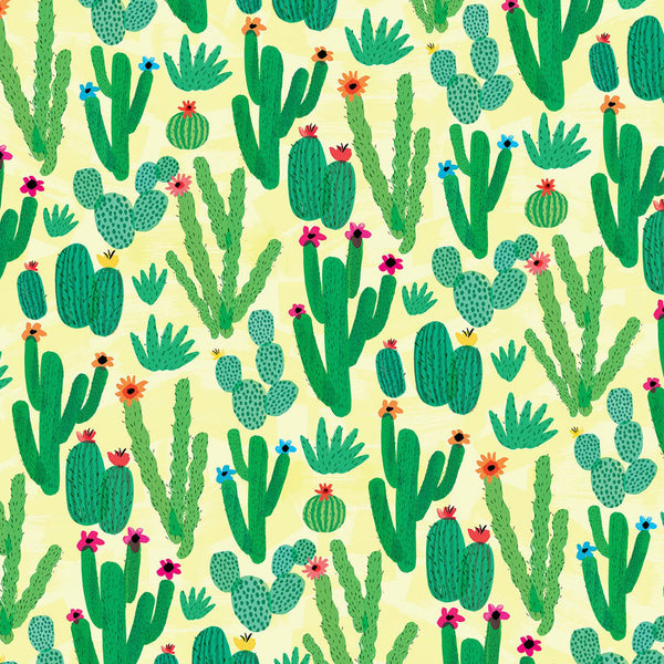Cactus Field Wrapping Paper (Click-and-Collect only)