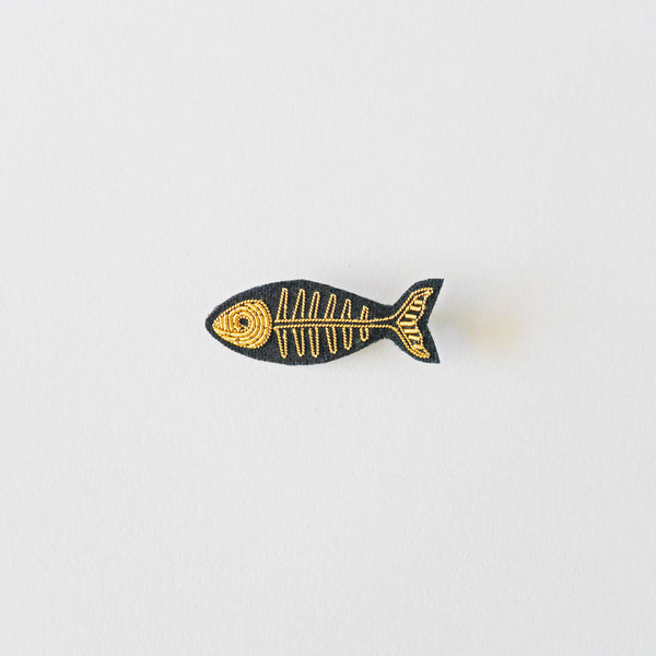 Macon & Lesquoy Fish Bone Brooch