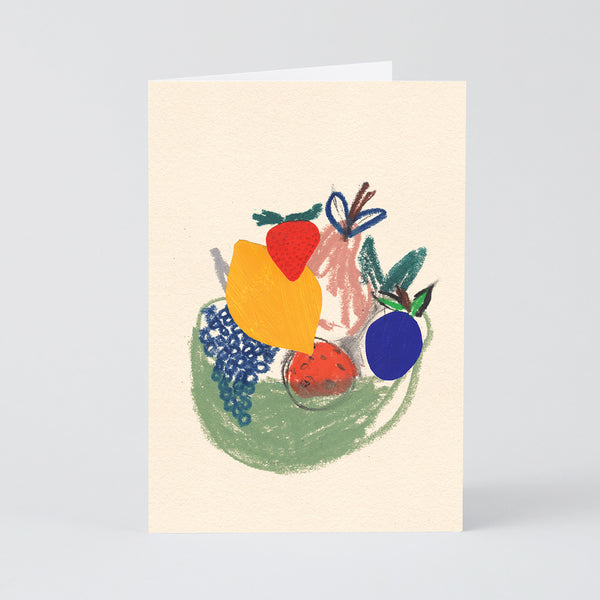 Fruit Bowl Art Card
