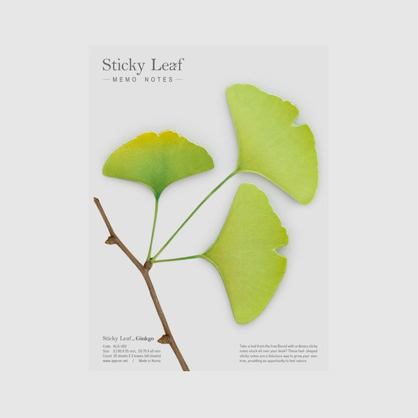 Appree Gingko Sticky Leaves