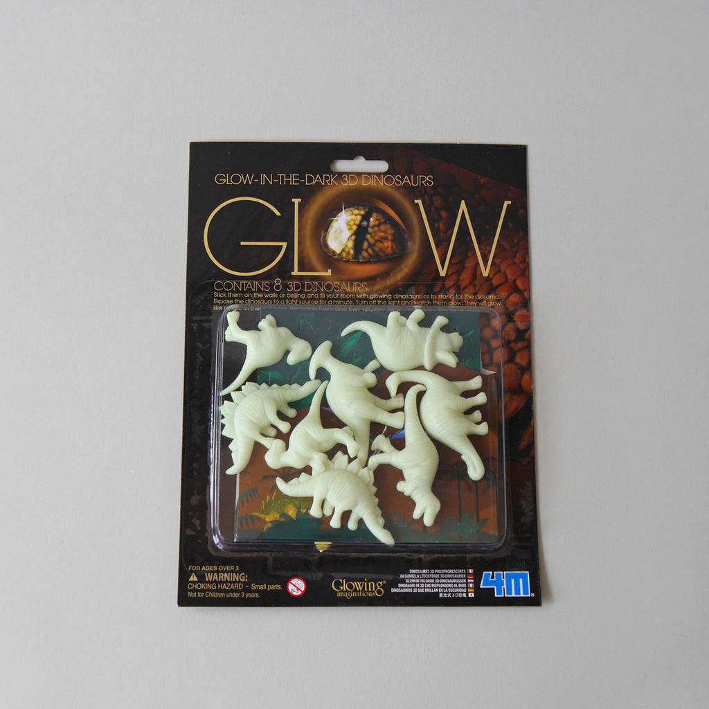 Glow in the Dark 3D Dinosaurs