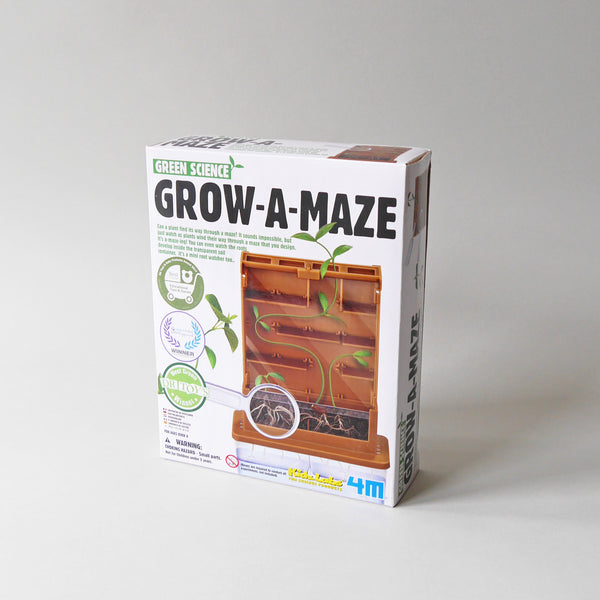 Green Science Grow a Maze