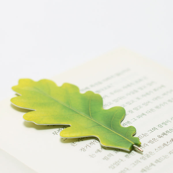 Appree Oak Leaf Bookmark Pen