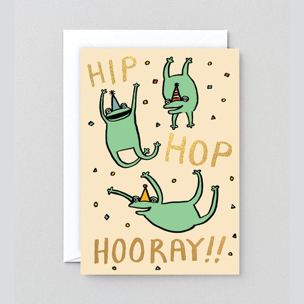 Hip Hop Hooray Greetings Card