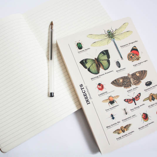 Insects A5 Notebook