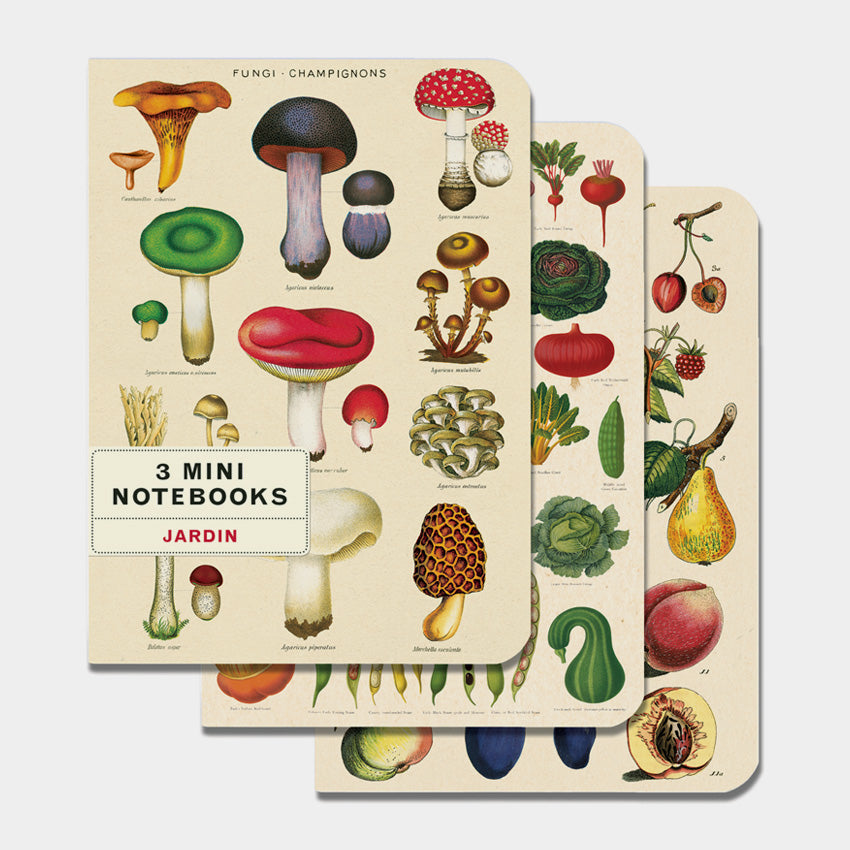 Le Jardin Mini Notebooks