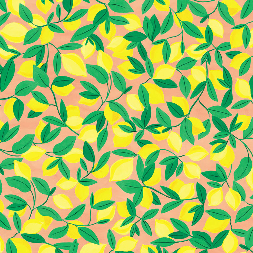 Lemons Wrapping Paper (Click-and-Collect only)