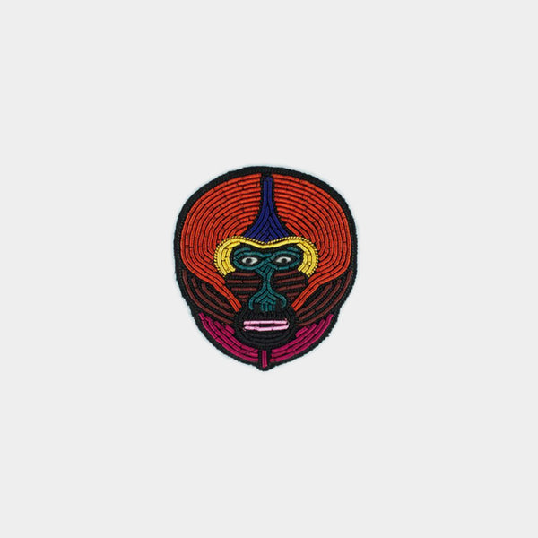 Macon & Lesquoy Mandrill Brooch