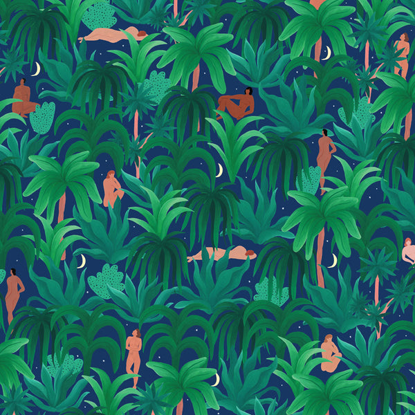 Night Jungle Wrapping Paper (Click-and-Collect only)