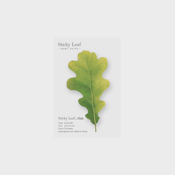 Appree Oak Sticky Leaf
