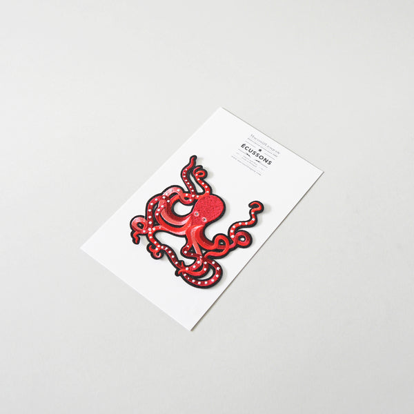 Macon & Lesquoy Octopus Iron-On Patch