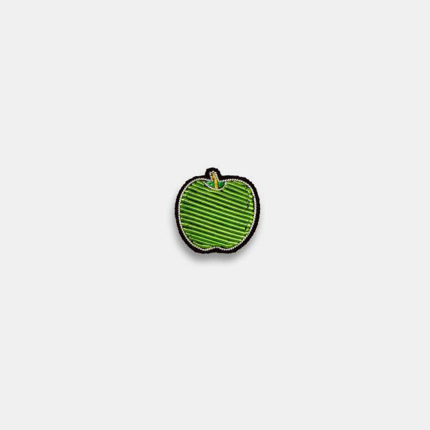 Macon & Lesquoy Apple Brooch