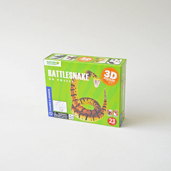 Rattle Snake 3D Puzzle