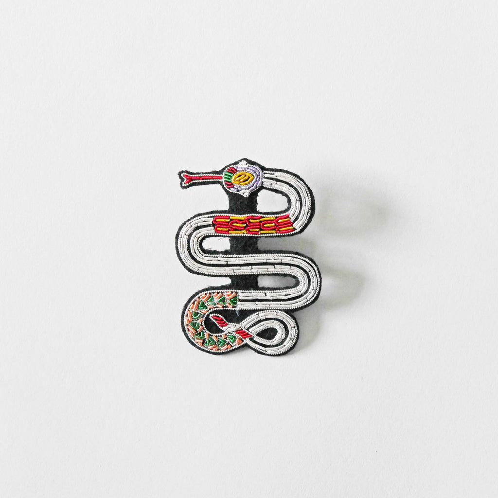 Macon & Lesquoy Snake Brooch