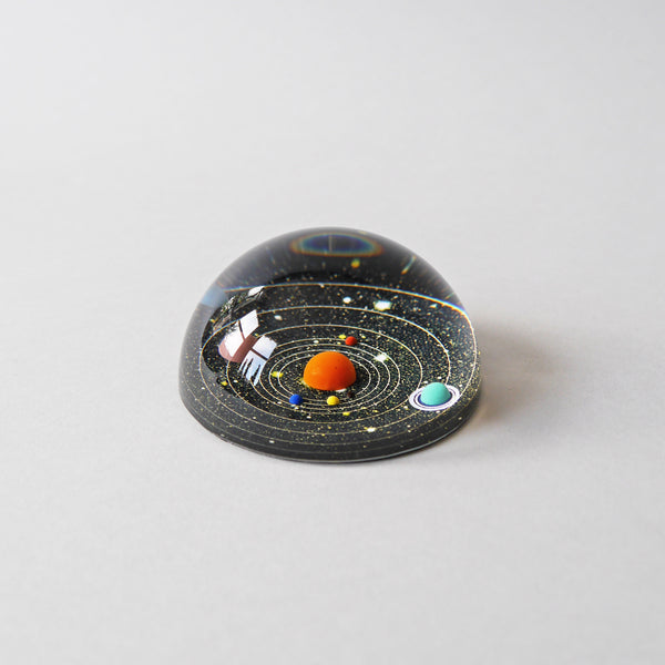 3D Planetary Paperweight