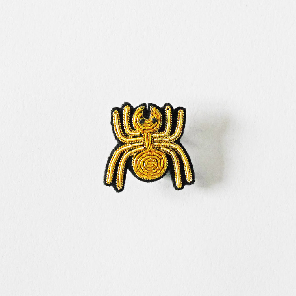 Macon & Lesquoy Spider Brooch