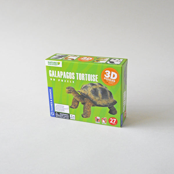 Galapagos Tortoise 3D Puzzle