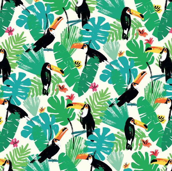 Toucans Wrapping Paper (Click-and-Collect only)