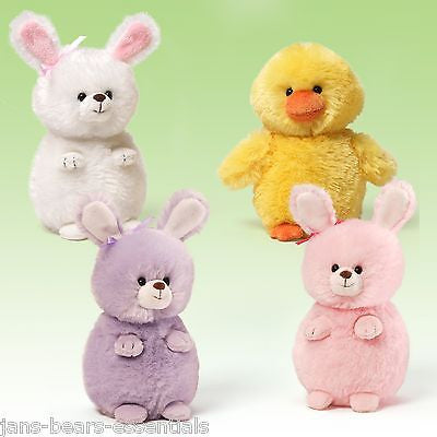 Gund - Puffers Ducks and Bunnies - 5.5""