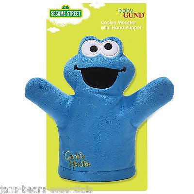 Baby Gund - Sesame Street - Cookie Monster Mini Puppet - 7""
