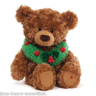 Gund - Tidings Animated Bear - 10""