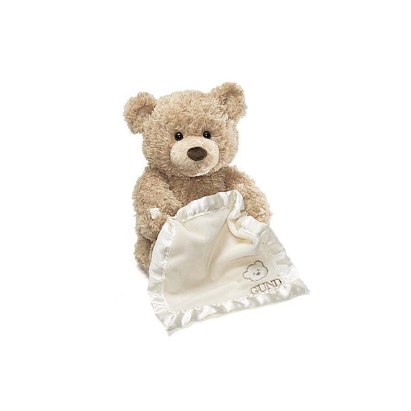"Baby Gund - Peek A Boo Interactive Bear - 11.5"" (four colors)"