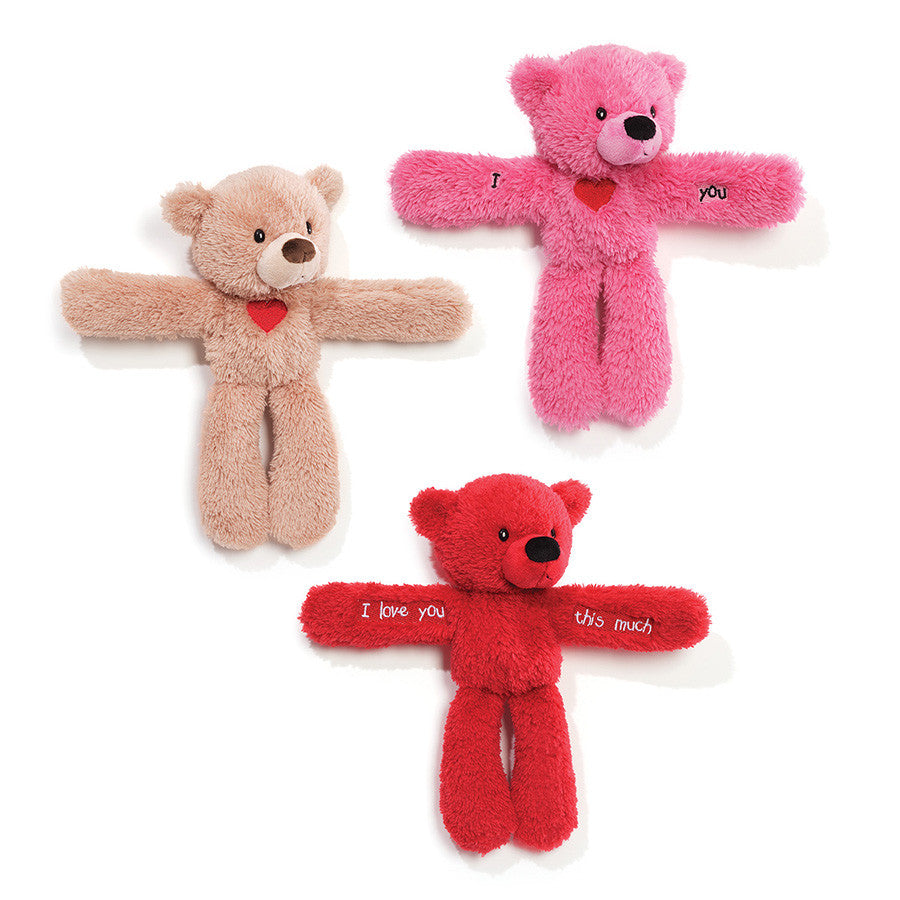 Gund - Snappable Fuzzy Bears - 9""
