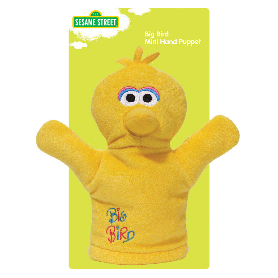 Baby Gund - Sesame Street - Big Bird Mini Puppet - 7""