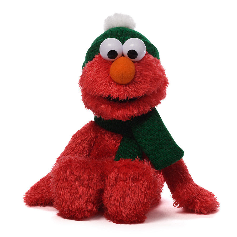 Gund - Sesame Street - Holiday Elmo - 13""