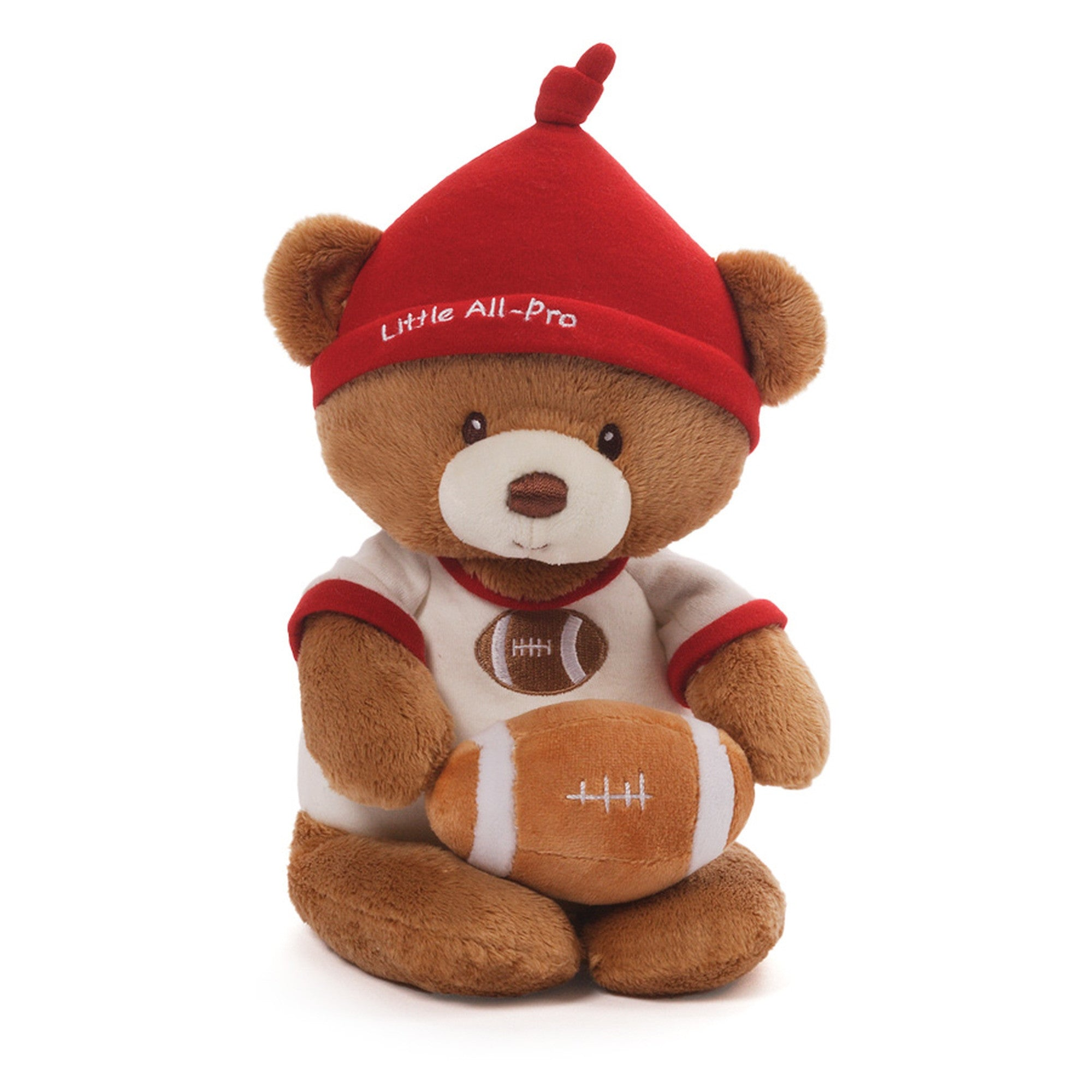 Baby Gund - Little All Pro Football Bear - 12""