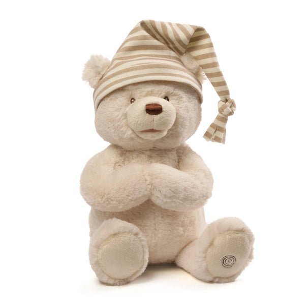 Baby Gund  - Animated Goodnight Prayer Bear - 15""