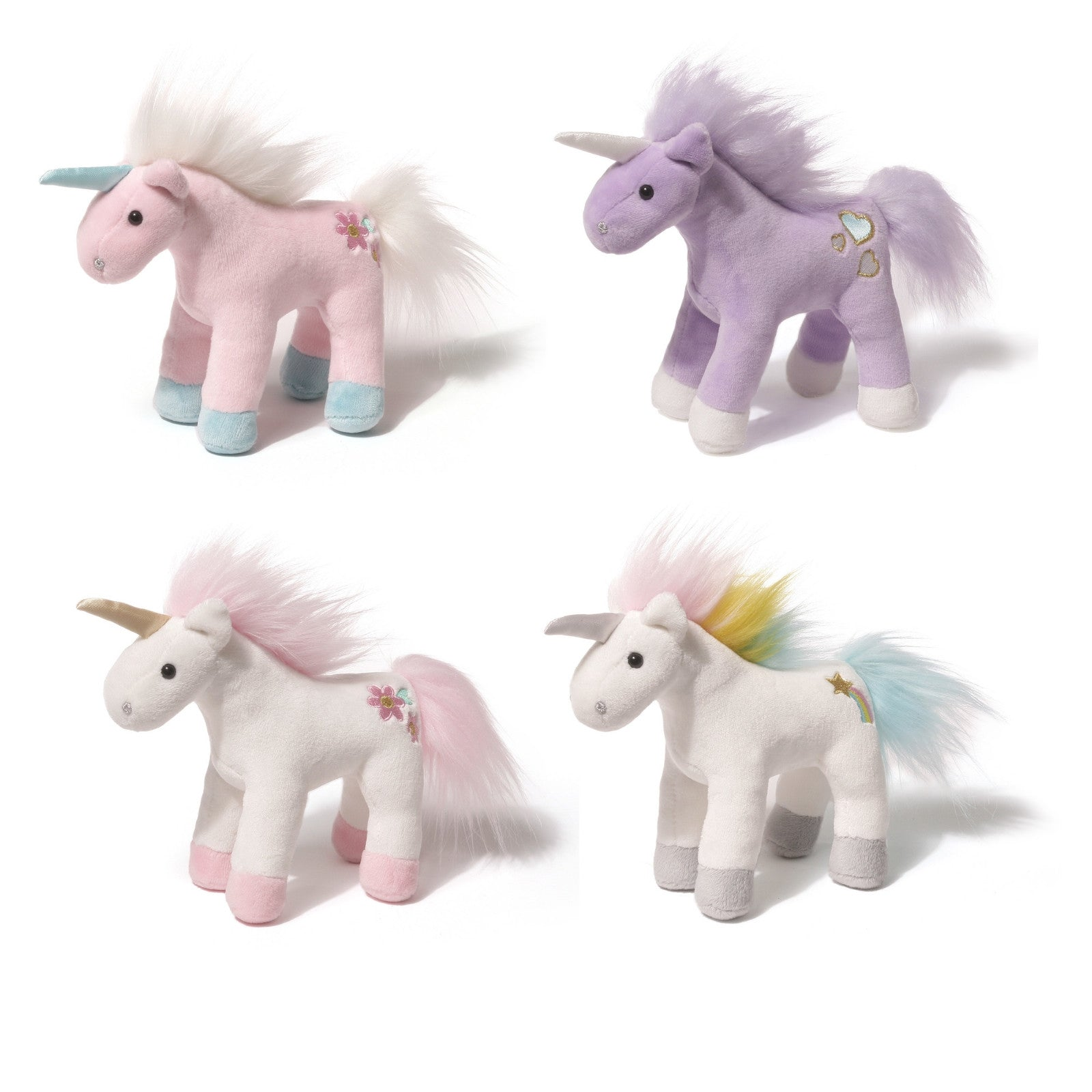 Gund - Unicorn Chatters - 6""