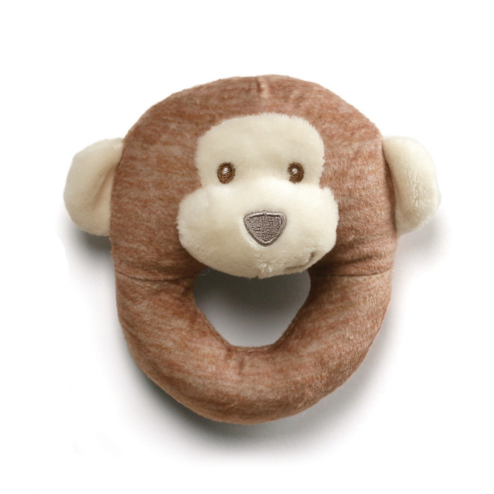 Baby Gund - Playful Pals Collection - Monkey Rattle