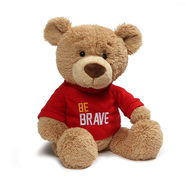 "Gund - ""Be Brave"" T-Shirt Teddy"