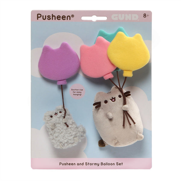 Gund - Balloon Pusheen and Stormy