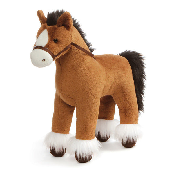 Gund - Dakota Clydesdale Brown Horse - 15""