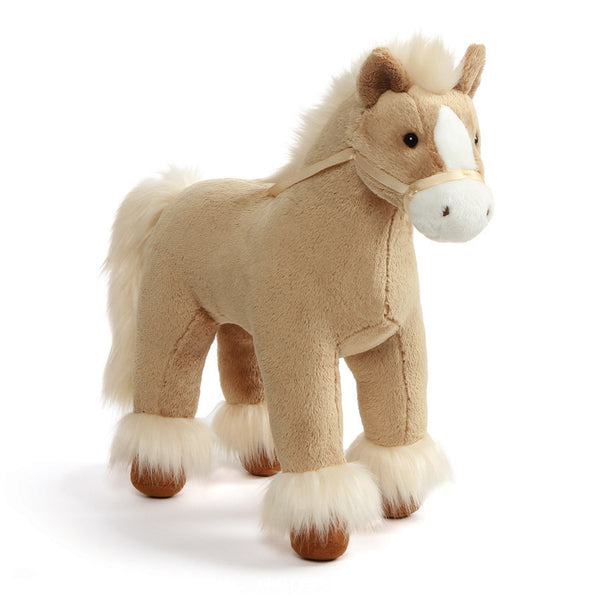 Gund - Dakota Clydesdale Tan Horse - 15""