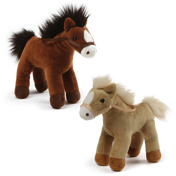 Gund - Animal Chatter Horse - 4.5""