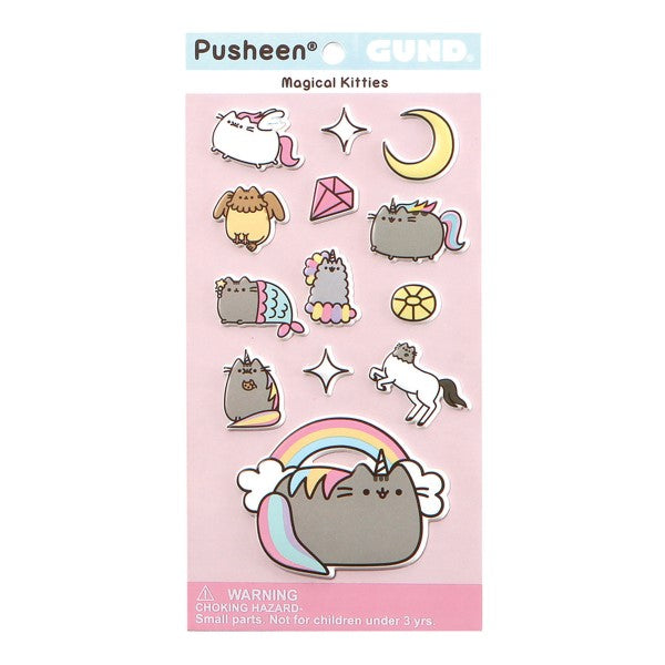 Gund - Pusheen Magical Kitties Puffy Stickers