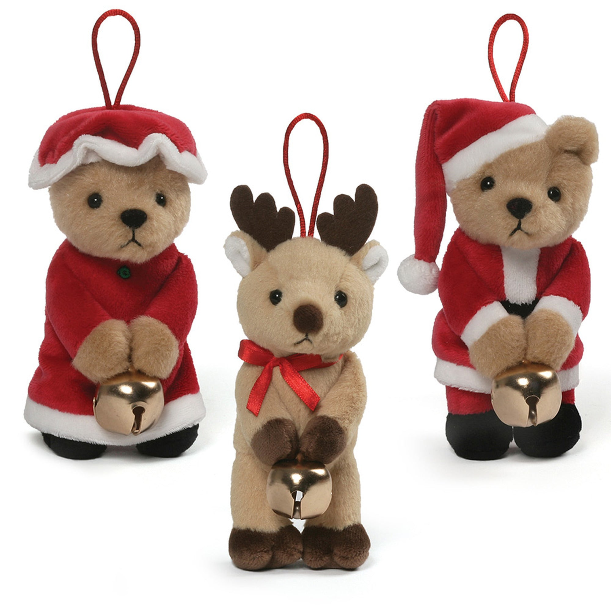 Gund - Jingle Ornaments - 3 styles