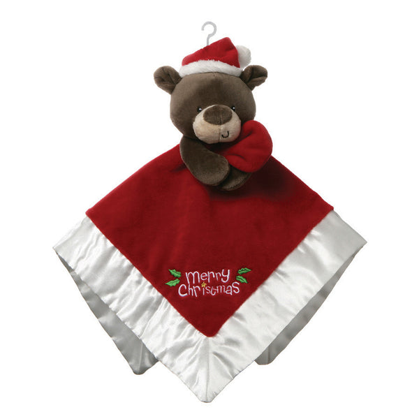 Baby Gund - Christmas Bear Lovey, 12""