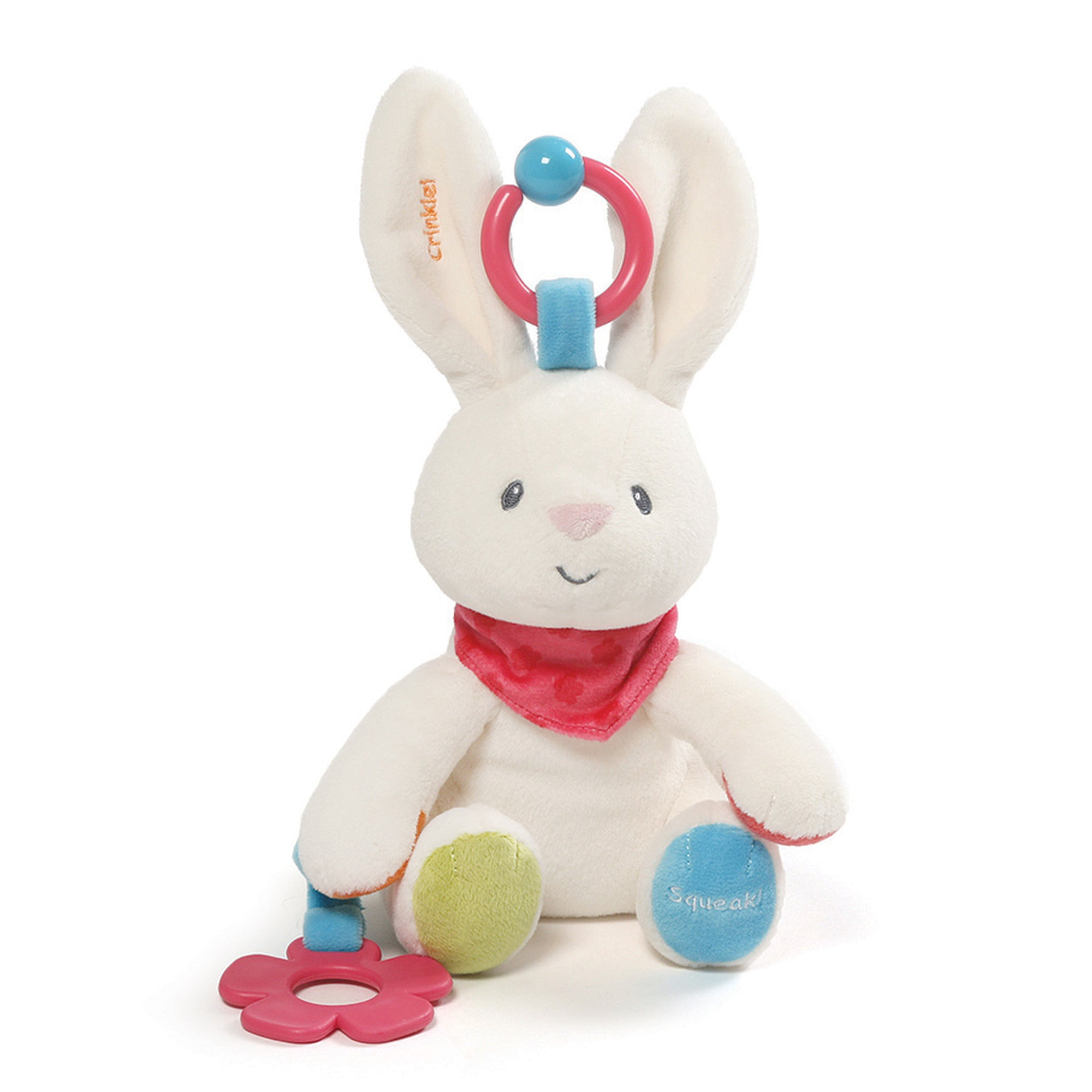 Baby Gund - Flora Activity Toy - 8.5""