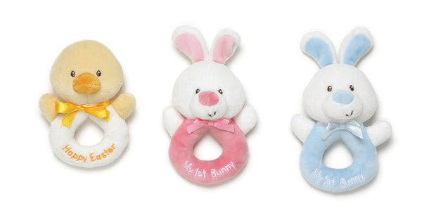 Baby Gund - Easter Rattle Assortment