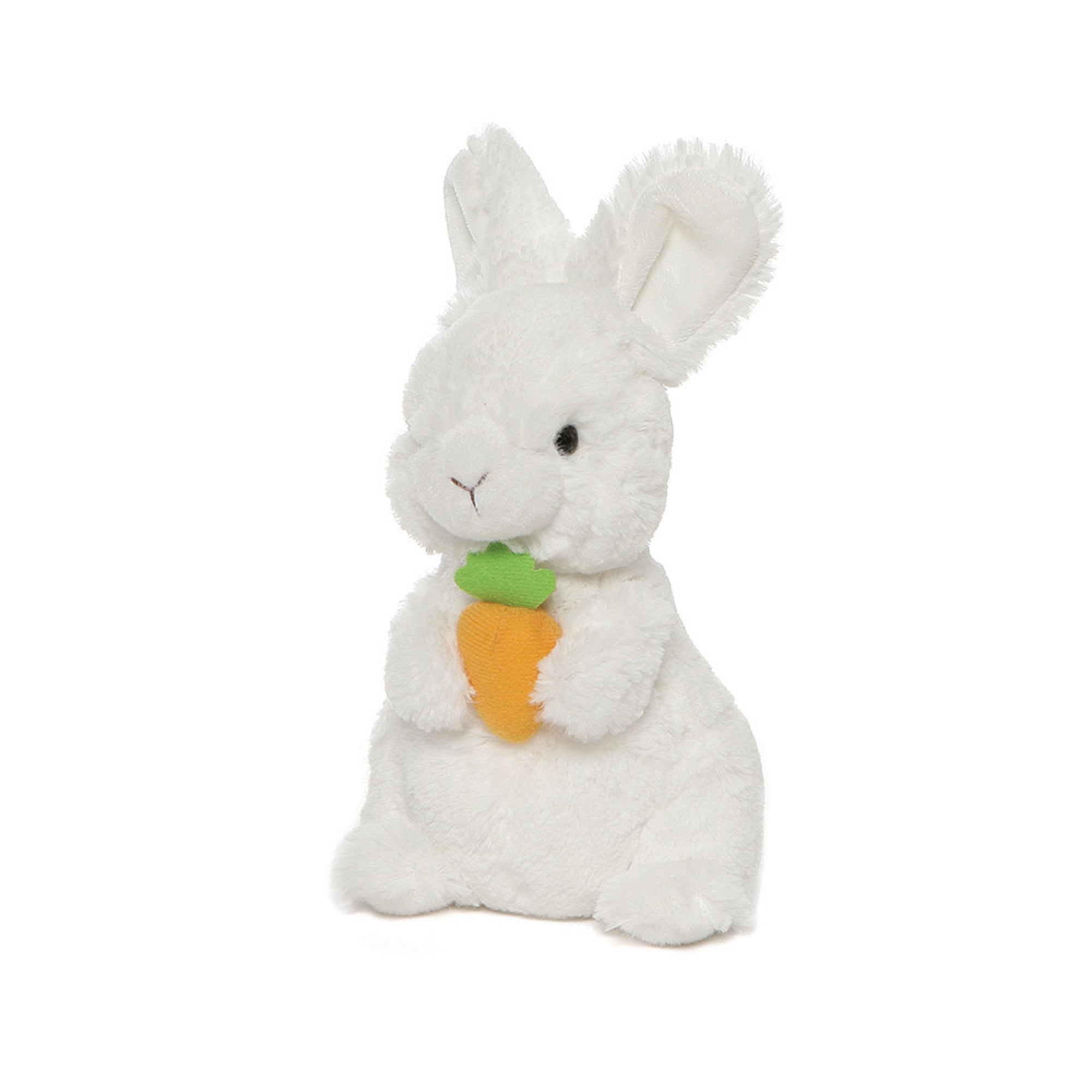 Gund - Lil Whispers Rabbit with Carrot - 7.5""