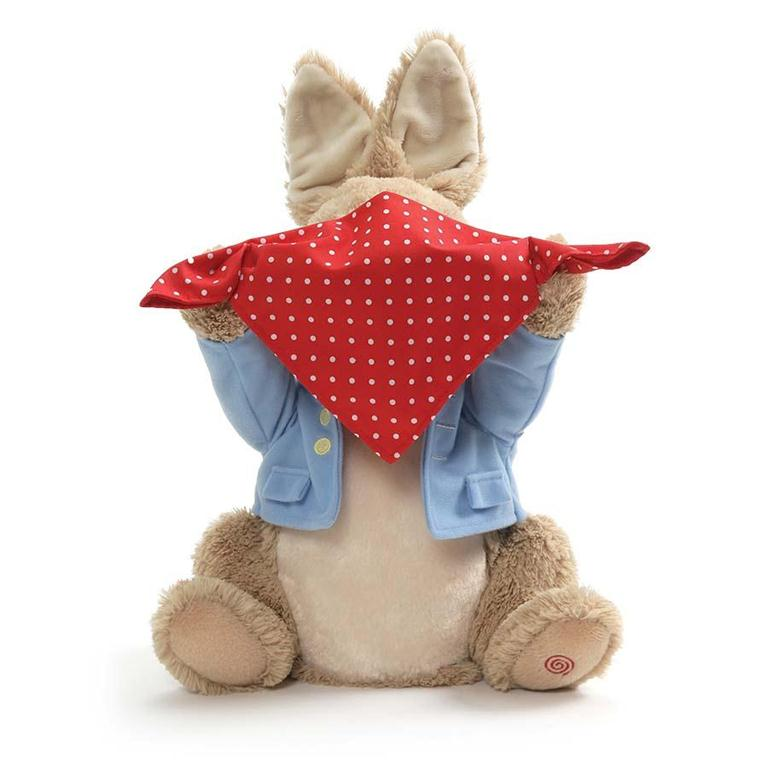 Gund - Peek a Boo - Peter Rabbit - 10""
