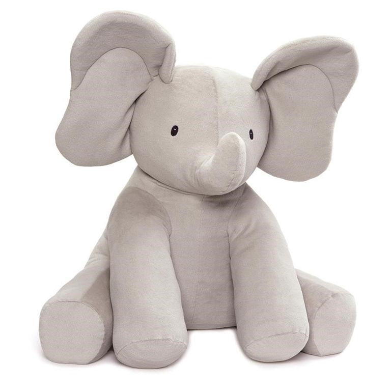 "Baby Gund - Flappy the Elephant - Jumbo 24"" - Animated"