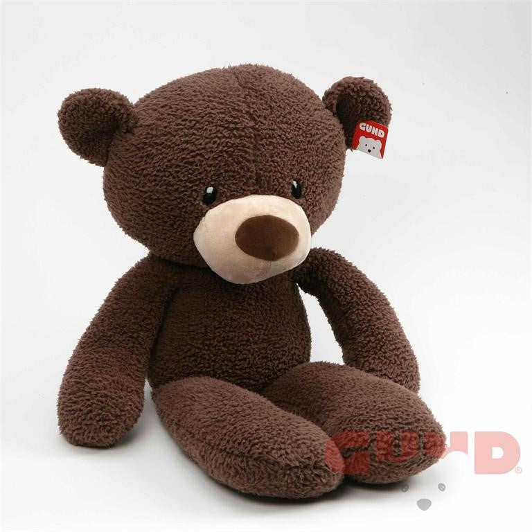 Gund - Fuzzy Bear - Chocolate - 24""